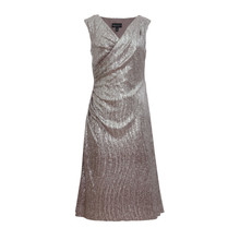 Connected Silver Shimmer Dress