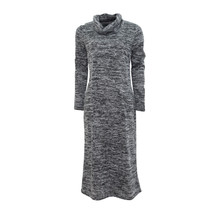 SophieB Grey Fleck Cowl Neck Dress