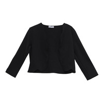 Zapara Black Short Open Jacket