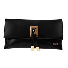 Gionni Black Clutch Bag