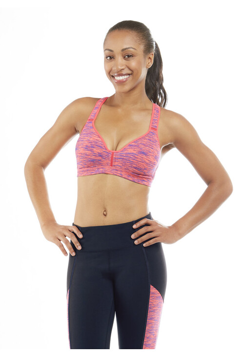 Marika DIVA PINK SPACE DYE Stacey Performance Sports Bra