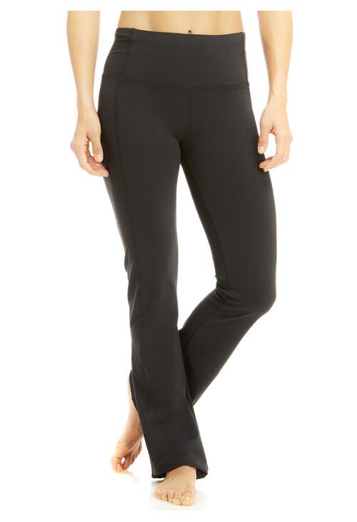 Marika Black Sophia High Rise Tummy Control Slim Boot Pants
