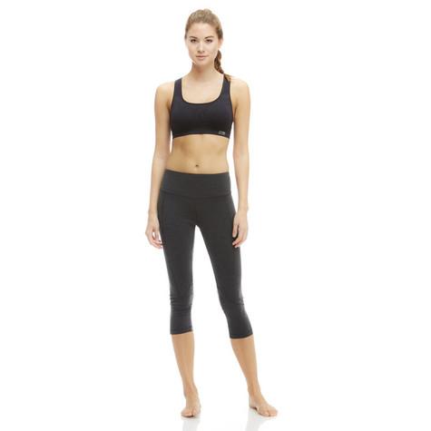91a93cb5cbbc5 Marika Black Carrie Ultimate Slimming Capri Leggings