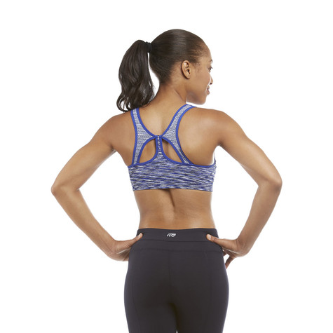 Marika COBALT INK SPACE DYE Anna Seamless Sports Bra