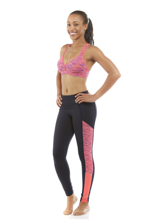 Marika Diva Pink Jordan Nebula Long Legging