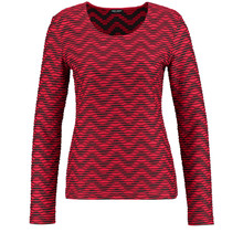 Gerry Weber LONG SLEEVE TOP WITH A WAVY TEXTURE