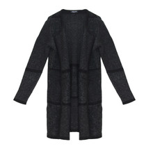 SophieB Black Two Tone Open Knit