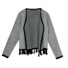 SophieB Sophie B Black Pattern Knit