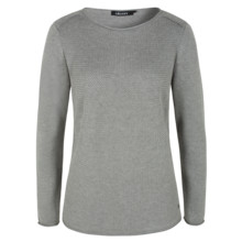 Olsen JUMPER COTTON BLEND - DUSTY