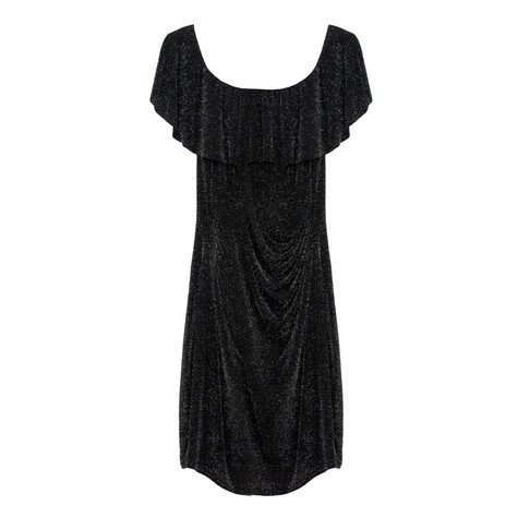 Zapara Black Sparkle Dress
