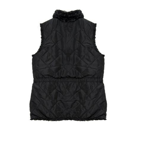Casual Identity Black Reversible Rousso Waistcoat - NOW €40 -