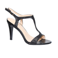 Moow Black T Strap Glam Shoe