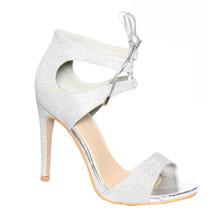 Stephen Sliver Slip Platform Shoe