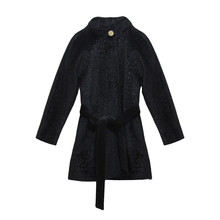 Zapara Black Revere Winter Coat