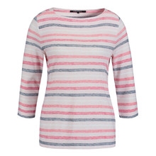 Olsen COTTON TOP STRIPED - BLUSH