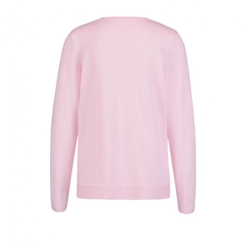 Olsen  Knitted Cowl Neck Jumper Pink
