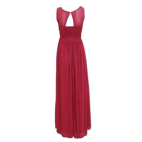 Max And Lola Berry V-Neck Bead Detail Dress