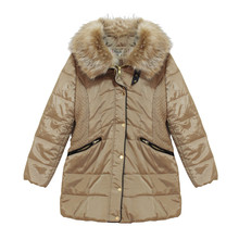 Kelya Beige Fun Fur Winter Coat - €70 -