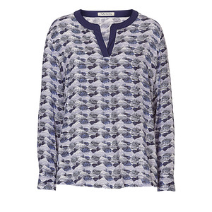 Betty Barclay Blue Pattern Blouse