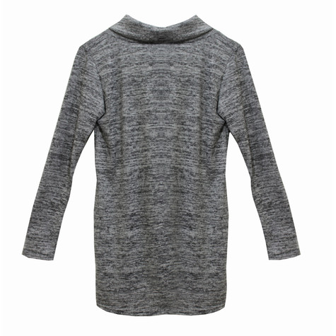 SophieB Grey Turtle Neck Knit