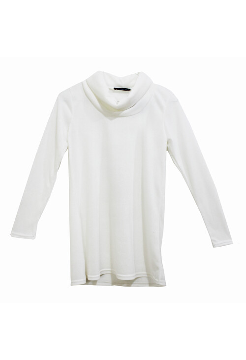 Sophie B Cream Turtle Neck Knit