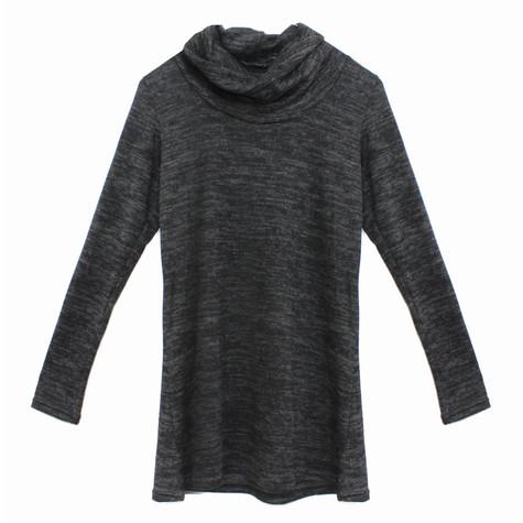 SophieB Dark Grey Turtle Neck Knit