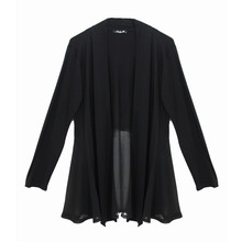 SophieB Black Chiffon End Top