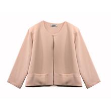 Zapara Soft Pink Crop Jacket