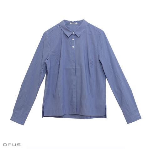 Opus Fulba Blue Stripe Shirt
