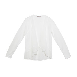 SophieB Off White Chiffon Top