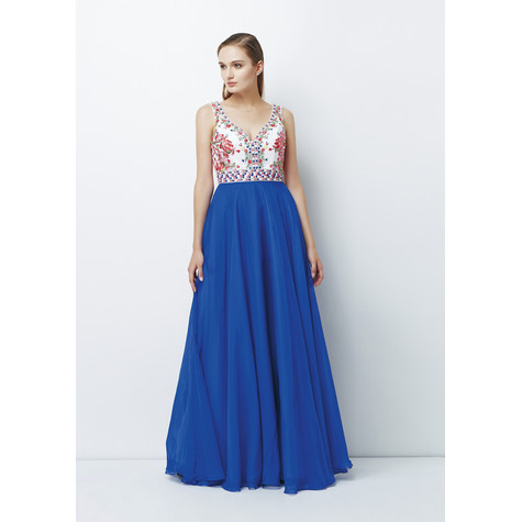 Lore Full length Chiffon Gown