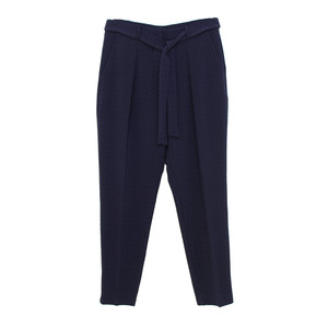 SophieB Navy Belt Tie Trousers