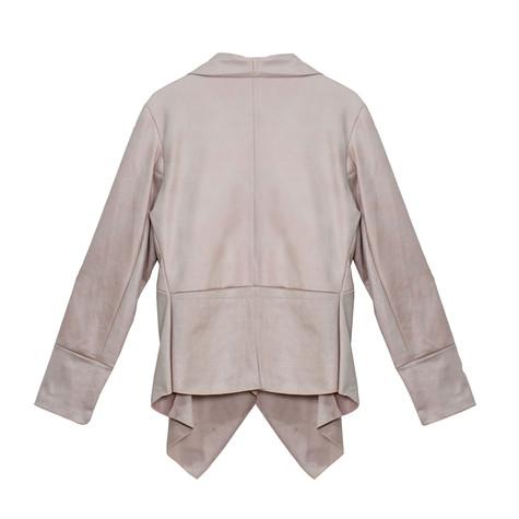SophieB Pink Suede Jacket