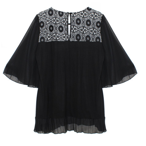 SophieB Black Multi Print Top