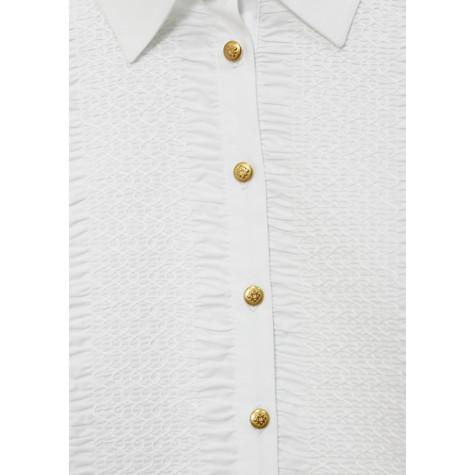 Tinta Style Gold Button up Collar Top