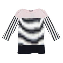 Twist Pink Colour Block Top