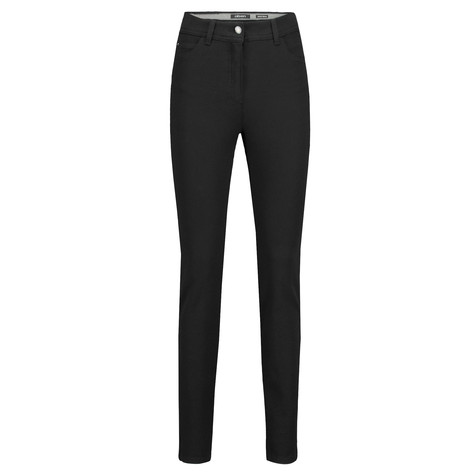 Olsen TROUSERS MONA SKINNY - BLACK