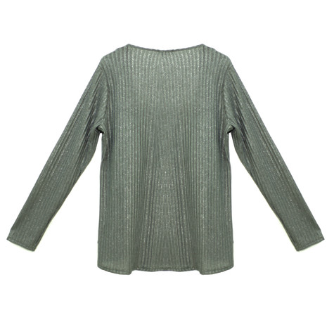 SophieB Soft Shimmer Rib Open Top