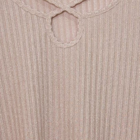 SophieB Rope Detail Light Shimmer Top