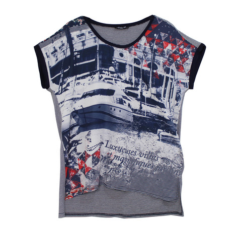 SophieB Nautical Digital Print Top