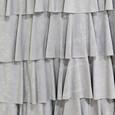 Zapara Silver Layered Dress