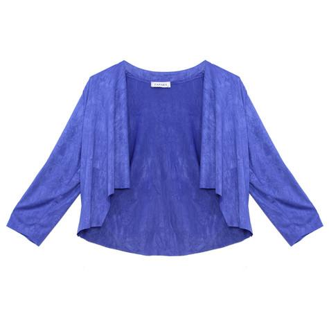 Zapara Royal Blue Easy Drape Bolero