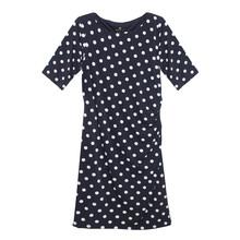 Ronni Nico Polka Dot Pattern Ripple Effect Dress
