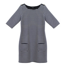 Twist Nautical Stripe Dress