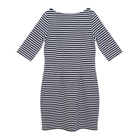 Twist Nautical Stripe Dress