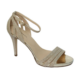 Pacomena Stone Ankle Strap Heels