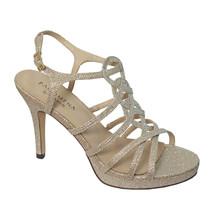 Pacomena Stone Slip Platform Heels