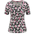 Gerry Weber TOP WITH A FASHIONABLE PRINT AND 1/2-LENGTH SLEEVES