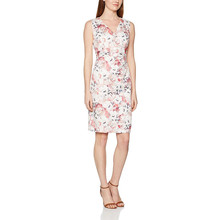 Gerry Weber Vestito Donna Floral V-neck Sleeveless dress