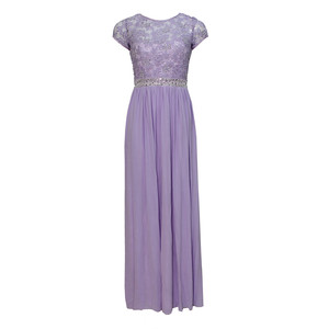 Max And Lola Liliac Long Dress